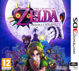 Portada de The Legend of Zelda: Majora's Mask 3D