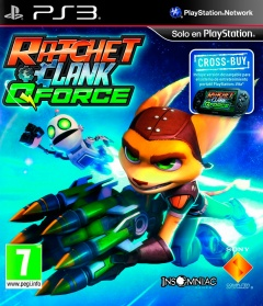 Portada de Ratchet & Clank: Q Force