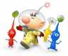 Render Pikmin y Olimar Super Smash Bros. N3DS WiiU.png