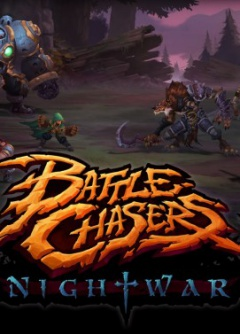 Portada de Battle Chasers: Nightwar