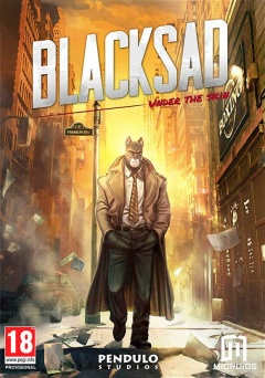 Portada de BLACKSAD: Under the Skin