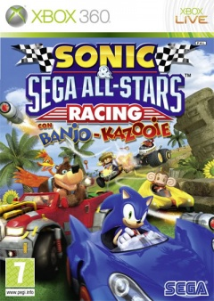 Portada de Sonic & Sega All-Stars Racing