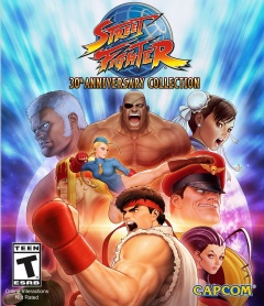 Portada de Street Fighter 30th Anniversary Collection