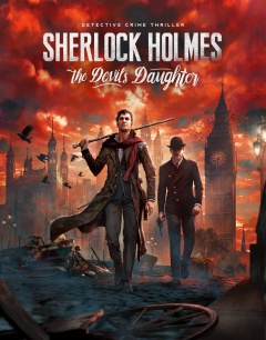 Portada de Sherlock Holmes: The Devil's Daughter