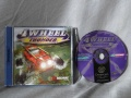 4 Wheel Thunder (Dreamcast-pal) fotografía caratula frontal y disco.jpg