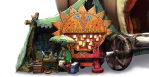 Arte 01 caravana juego Monster Hunter 4 Nintendo 3DS.png